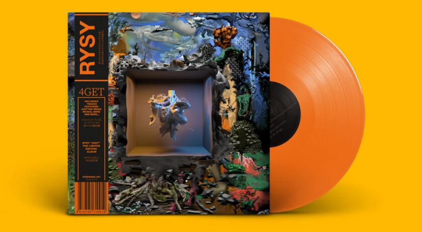RYSY album 4GET, wersja na winylu